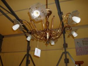 lampadario a 6 lampade