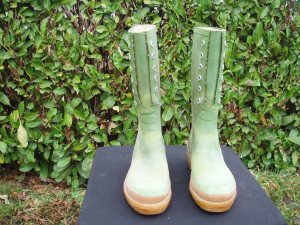 stivali uomo verdi in gomma