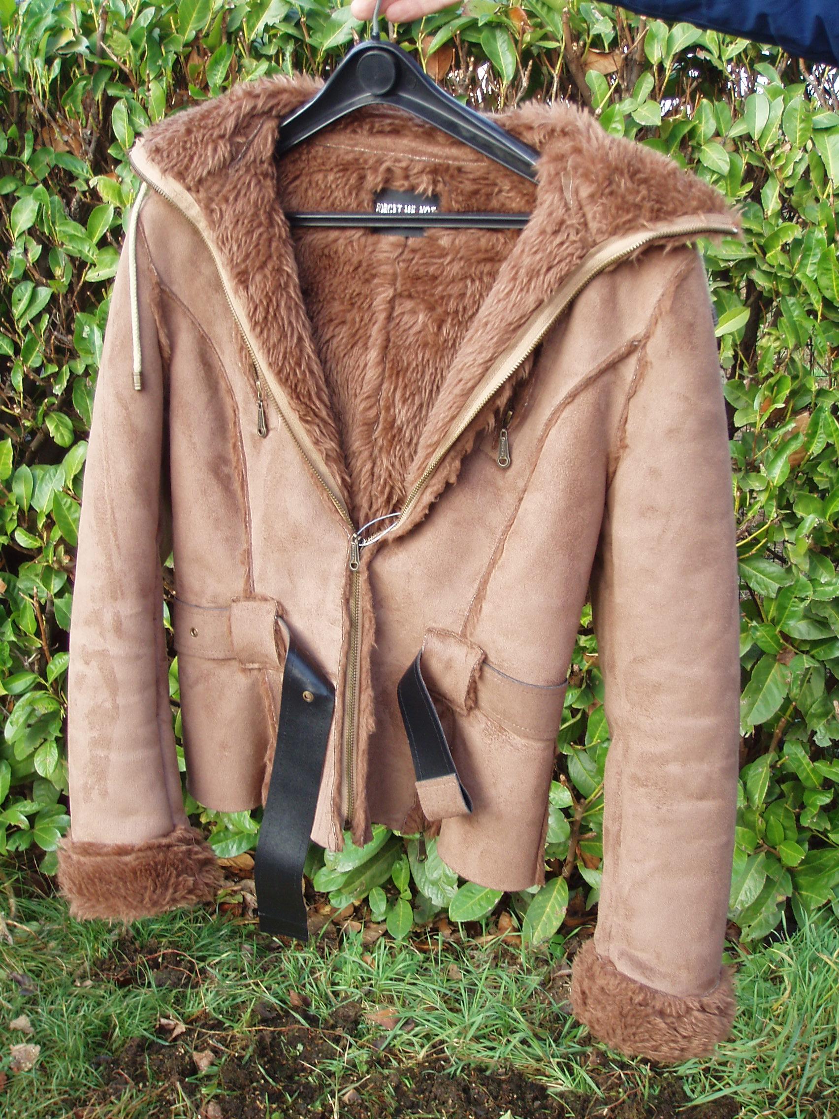 the latest 9ed9e a9597 giacca in montone donna marrone chiaro taglia media – Il ...