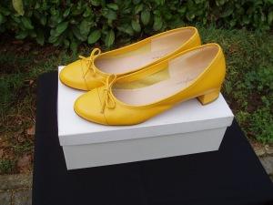 scarpe gialle donna
