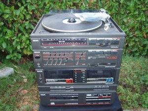 stereo con giradischi philips