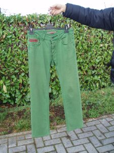 jeans bimbo verdi