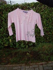 maglione rosa per bambina