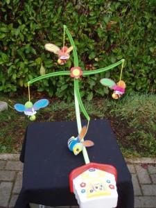 giostrina per lettino neonati