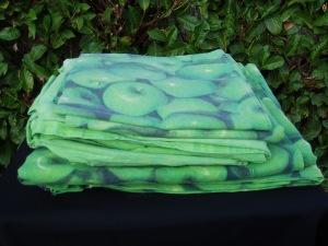 lenzuola single con stampa mela