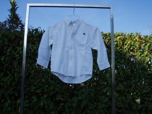 camicia bianca bambino