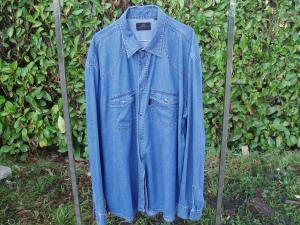 camicia in jeans per uomo