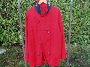 giaccone uomo rosso