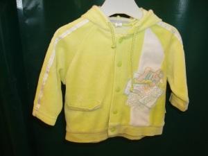 giubbetto giallo bimbo piccolo