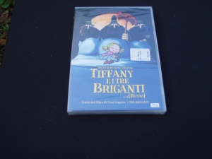 dvd tiffany e i tre briganti