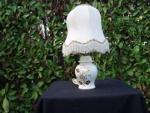 bajour in porcellana bianca