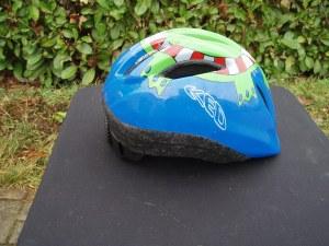 casco bici per bambini blu