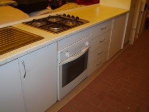 cucine lineare bianca 4 mt