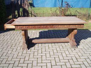 tavolo d'epoca del 1800