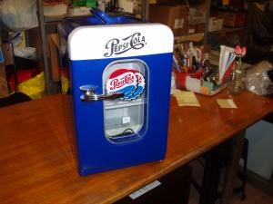 frontale mini frigo pepsi cola