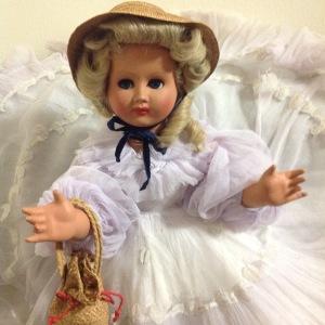 bambola bionda anni 50