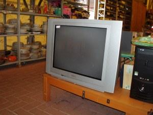 televisore philips a tubo catodico
