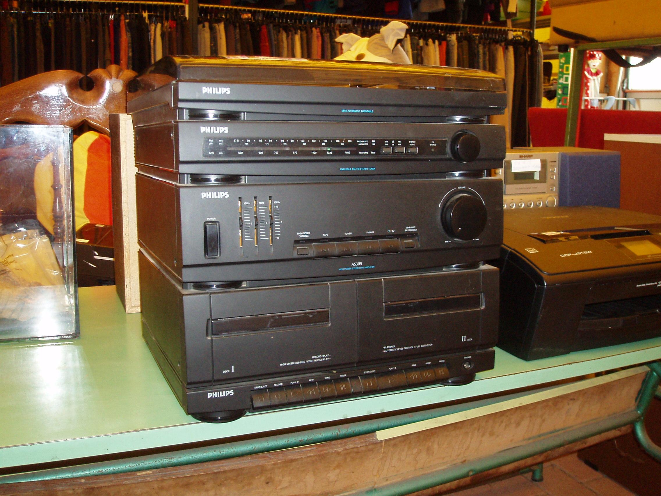 Stereo philips as305 il tendone solidale mercatino dell - Impianto radio casa ...