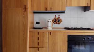 vista cucina lato frigo