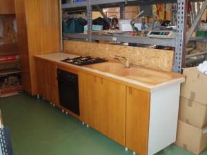 cucina da 3,9 mt con angolo