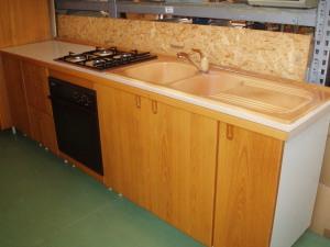 vista tratto lineare cucina 3,9 mt