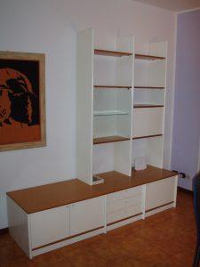 soggiorno bianco 220 cm