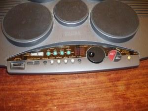 particolare comandi batteria yamaha dd50