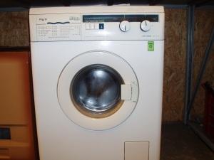 lavatrice fluvia vista frontale