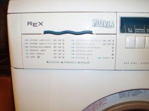 lavatrice fluvia vista programmi