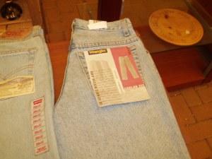 jeans nuovo wrangler
