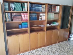 libreria noca chiaro a quattro moduli