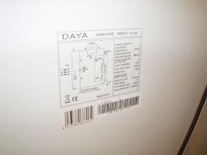 targa caratteristiche tecniche congelatore a pozzo