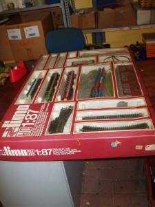trenino lima h 1:87 scatola chiusa