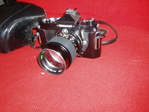 nikkormat ft con custodia orginale