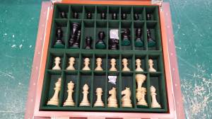 valigetta contenitore scacchi in legno similradica